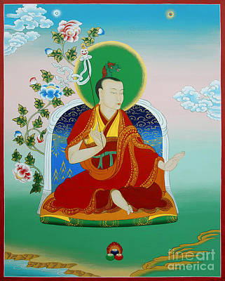 Gyalwa Choyang Poster by Sergey Noskov
