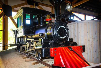 H K Porter Steam Train Joe Douglass Poster