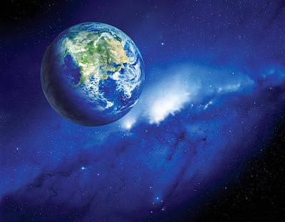 Habitable Alien Planet Poster by Detlev Van Ravenswaay