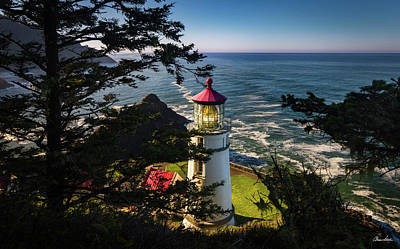 Heceta Head Poster by C Steele