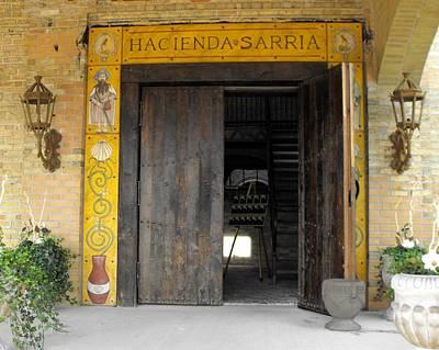 Hacienda Sarria Poster by David and Lynn Keller