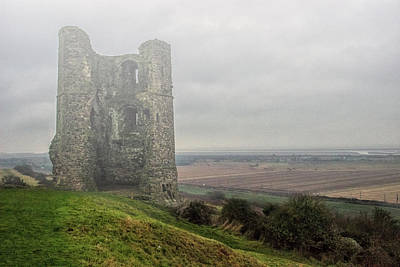 Hadleigh Castle Fog Poster by Martin Newman