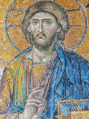 Hagia Sofia Christ Mosaic Poster