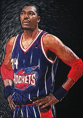 Hakeem Olajuwon Poster