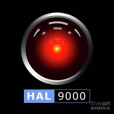 Hal 9000 Poster