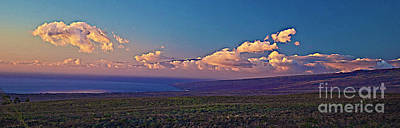 Haleakala In Sunset Clouds Poster