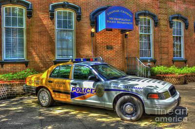 Half And Half What Is It Manna Savannah Georgia Police Art Poster