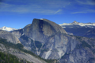 Half Dome From Yosemite Point Poster