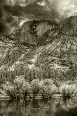 Half Dome Over Mirror Lake Poster