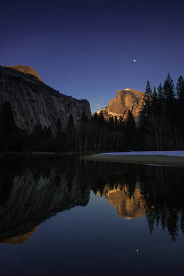 Half Dome, Twilight Poster