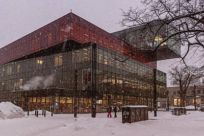 Halifax Central Library Poster by Irena Kazatsker