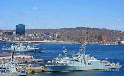 Halifax Naval Yards Poster