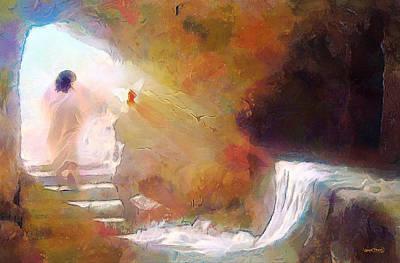 Hallelujah, He Is Risen Poster
