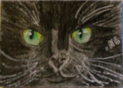 Halloween Black Cat I Poster