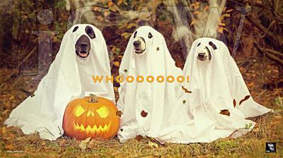 Halloween Hounds Poster