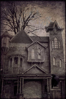 Halloween In Old Town Poster