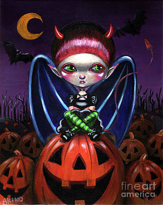 Halloween Little Devil Poster