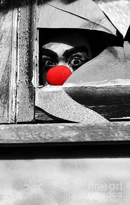 Halloween Peek A Boo Poster