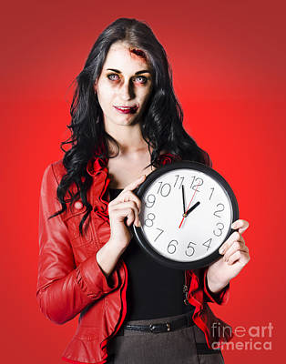 Halloween Time In A Deadline Poster by Jorgo Photography - Wall Art Gallery