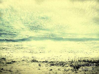 Hallucination On A Beach Poster