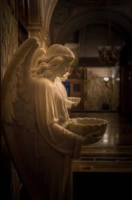 Hallway Of Angels Poster by Carlos Ruiz