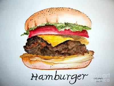 Hamburger 1 Poster