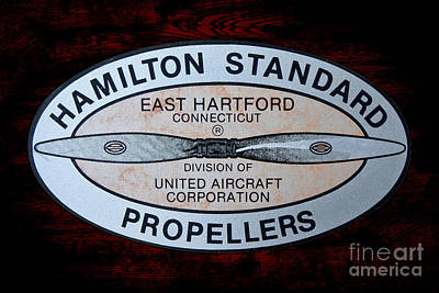Hamilton Standard East Hartford Poster by Olivier Le Queinec