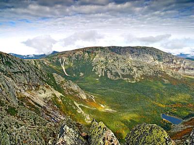Hamlin Peak Baxter State Park Maine Poster by Brendan Reals