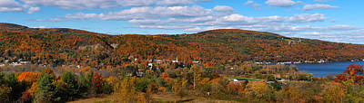 Hammondsport Panorama Poster by Joshua House