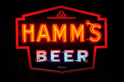Hamm's Beer Poster by Susan  McMenamin