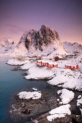 Hamnoy Poster by Alex Conu