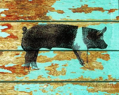 Hampshire Boar 1 Poster