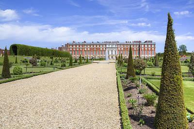 Hampton Court Palace - England Poster