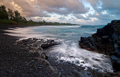 Poster featuring the photograph Maui - Hana Bay by Francesco Emanuele Carucci