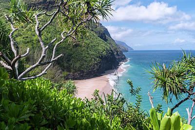 Hanakapiai Beach Poster