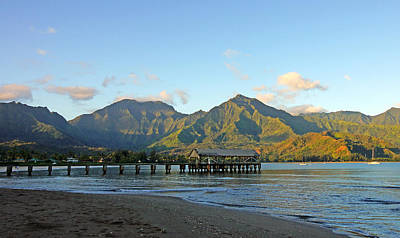 Hanalei Bay Morning Kauai Poster by Kevin Smith