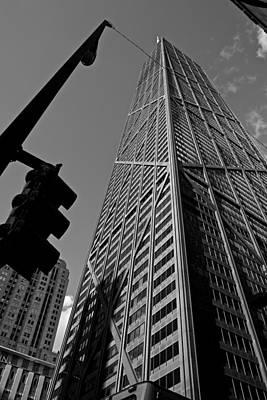 Hancock - Chicago - Poster by Miranda  Miranda