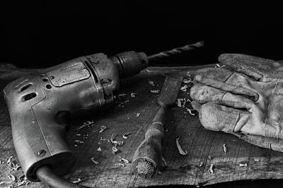 Hand Tools 3 Poster by Richard Rizzo
