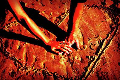 Hands In Love Poster