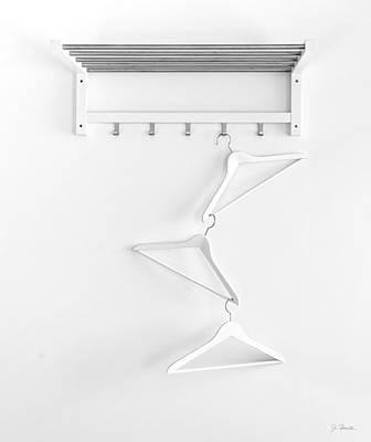 Poster featuring the photograph Hangers No. 2 by Joe Bonita
