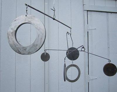 Hangin Mobile Kinetic Sculpture Poster