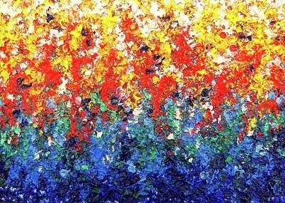 Hanging Gardens Poster by Rachel Bingaman