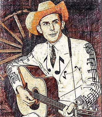 Hank The Drifter Poster