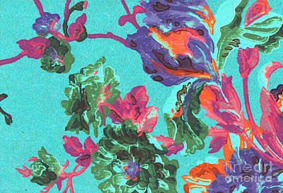 Happy Blooms Poster