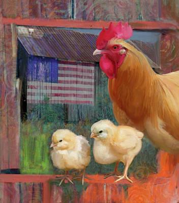 Happy Chicken  Poster