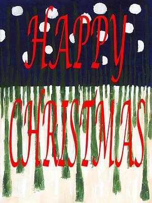 Happy Christmas 110 Poster by Patrick J Murphy