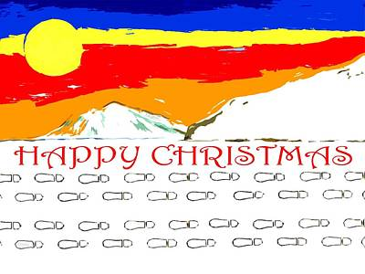 Happy Christmas 111 Poster by Patrick J Murphy