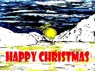Happy Christmas 96 Poster by Patrick J Murphy