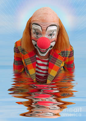 Happy Clown A173323 5x7 Poster