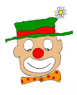 Happy Clown Poster